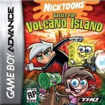 Juego Para Gameboy Advanced Sp - Nicktoons Battle For Volcan