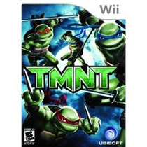 Wii Teenage Mutant Ninja Turtles Tmnt De Uso Envio Inmediato