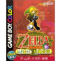 The Legend Of Zelda Oracle Of Seasons Game Boy Color Japones