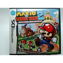 Mario Vs Donkey Kong 2 Nintendo Ds Lite Dsi 2ds 3ds