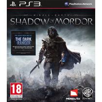Shadow Of Mordor Legion Edition Ps3 Pakogames