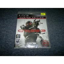 Crisis 3 Hunter Edition Nuevo Para Play Station 3,excelente.