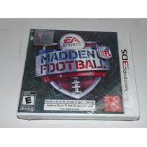 Madden Football 3ds Nintendo Neuvo Y Sellado Nfl