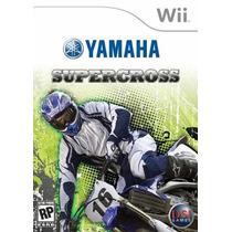 Yamaha Supercross Wii Videojuego Seminuevo Original
