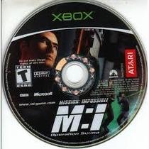 Mission Impossible: Operation Sur Xbox Excelente Estad Disco