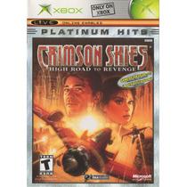 Crimson Skies Platinum Hits Xbox Clasico Seminuevo