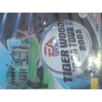 Tiger Woods Tour 2003 Golf De Game Cube Compatible Con Wii