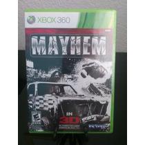 Mayhem 3d Xbox 360 Nuevo De Fabrica Citygame