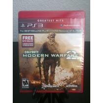 Call Of Duty Modern Warfare 2 Con 5 Mapas Extras Ps3 Nuevo