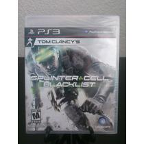 Splinter Cell Blacklist Ps3 Nuevo De Fabrica Citygame