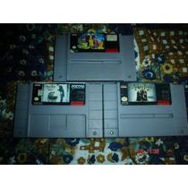 Super Nintendo Trilogia Familia Adams