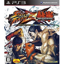 Street Fighter Tekken Ps3 Japonesa