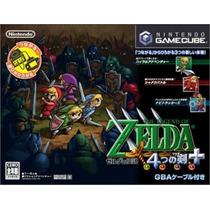 The Legend Of Zelda Four Swords Gamecube Japonesa