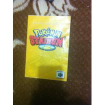 Manual Pokémon Stadium 2 Con Caja Repro