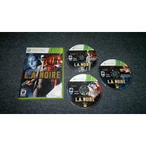 L.a Noire Para Xbox 360,excelente Titulo
