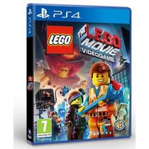 Lego Movie Videogame Ps4 Play Station Juego Sellado