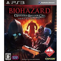 Bio Hazard Operation Racoon City Ps3 Japonesa