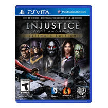 °° Injustice Ultimate Edition Para Ps Vita °° En Bnkshop