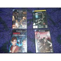 Resident Evil 1 Remake + Zero 0 + Code Veronica + 4 Gamecube
