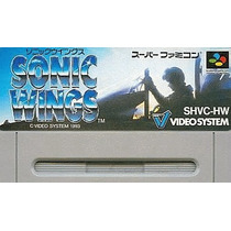 Sonic Wings Super Nintendo Japonesa
