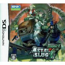 Metal Slug 7 Nintendo Ds Japonesa