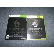Resident Evil 6 Archives Nuevo Para Xbox 360,excelente