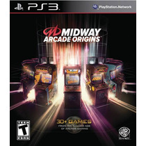 Midway Arcade Origins Ps3 Nuevo De Fabrica Citygame