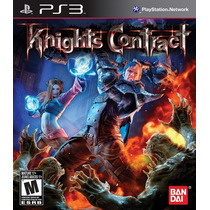 Knights Contract Ps3 Nuevo De Fabrica Citygame