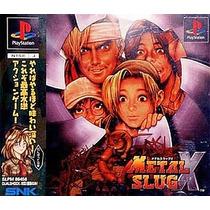 Metal Slug X Ps1 Japonesa