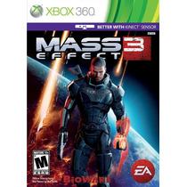 Mass Effect 3 Xbox 360 Nuevo Blakhelmet Sp D