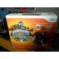 Skylanders Giants Juego Y Figura Nintendo Wii