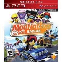 Modnation Racer Ps3 Nuevo De Fabrica Citygame