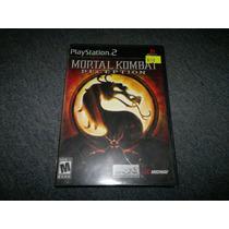 Mortal Kombat Deception Nuevo Y Sellado Para Play Station 2.