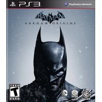 Batman: Arkham Origins Para Ps3