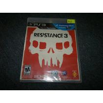 Resistance 3 Nuevo Para Play Station 3,excelente Titulo