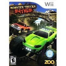 Monster Trucks Mayhem Wii Usado . Cambios Gamer ..