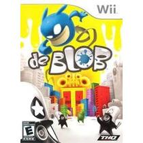 De Blob Wii Usado . Cambios Gamer ..