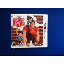Vendo... Wreck-it Ralph ... Para Nintendo 3d