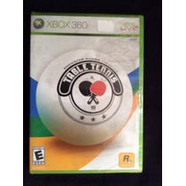 Juego Xbox 360 Table Tennis