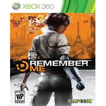 Remember Me Para Xbox 360 Nuevo Y Sellado Maa Vv4 Hm4