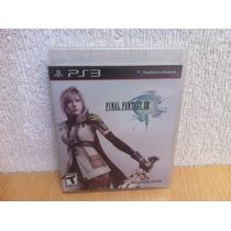 Final Fantasy Xiii Para Ps3