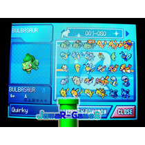 Pokemon Pearl + 493 Pokes + Tms + Berrys + Rare Candys Nds
