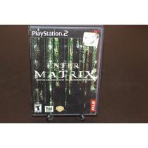 Enter The Matrix Para Playstation 2 Completo. Neo.