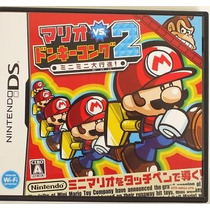 Mario Vs Donkey Kong 2 Nintendo Ds Japonesa