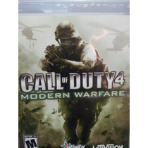 Call Of Duty 4 Moder Warfare Ps3