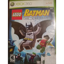 Juego Xbox 360 Lego Batman The Videogame