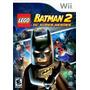 Lego Batman 2 Dc Super Heroes Wii Nuevo De Fabrica
