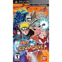 Naruto Shippuden Kizuna Drive Para Psp Nuevo Físico