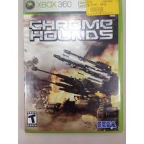 G0232 Xbox 360 Videojuego Videogame Chrome Hounds Usado