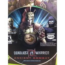 G0237 Xbox 360 Videojuego Videogame Deadliest Warrior Ancien